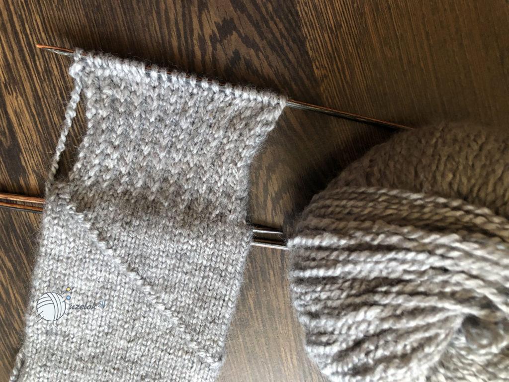 Носки на 5 спицах