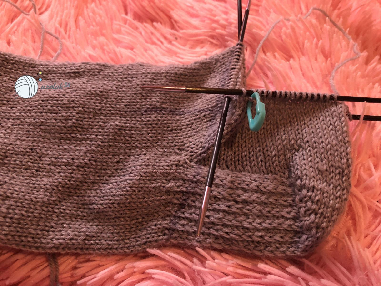 мужские носки спицами размер 42 43 пошаговое описание с фото и