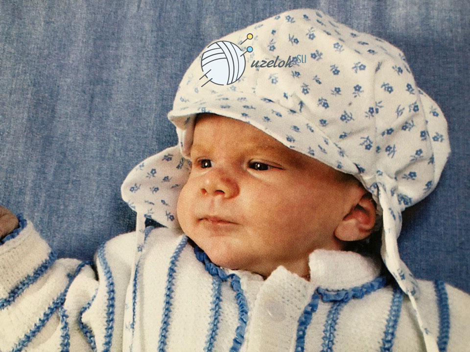 Вязание кофточки для новорожденного мальчика спицами