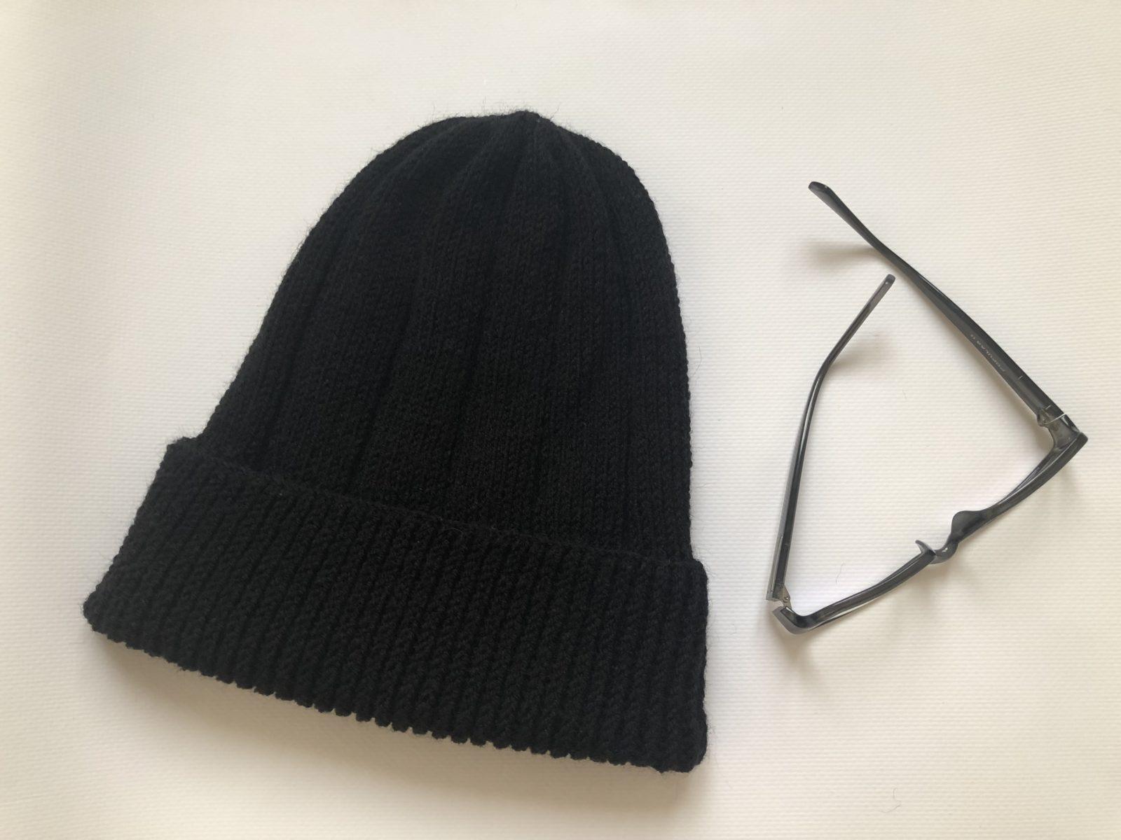 IMG_7395 Простая мужская шапка спицами, схема мужской шапки спицами, пошаговое описание с фото. Мужская шапка спицами для начинающих