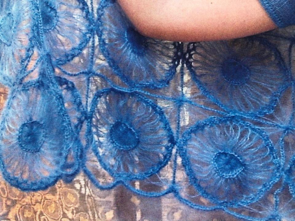 Вязание на вилке: палантин и пуловер