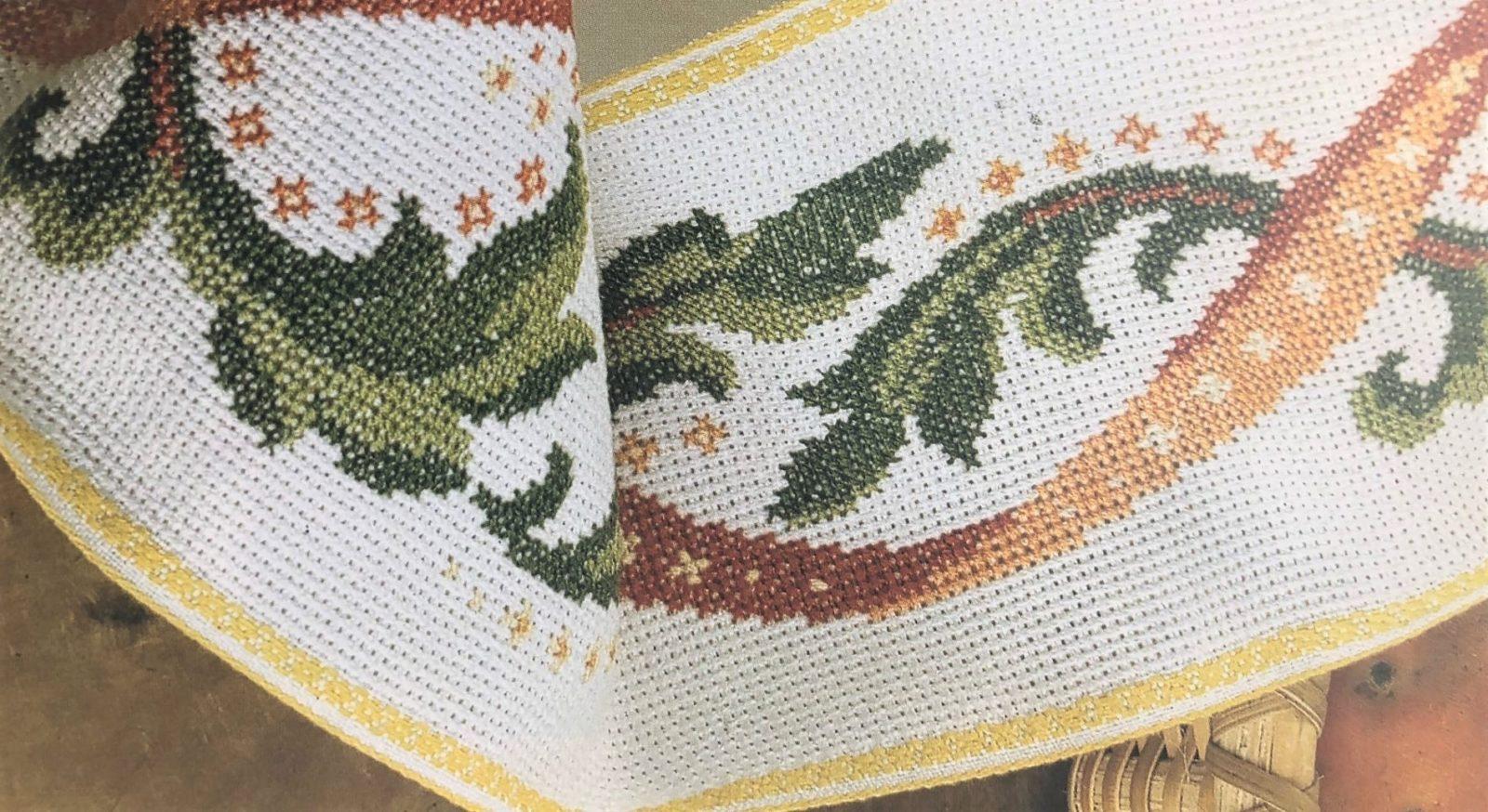 Схемы вышивки для скатерти