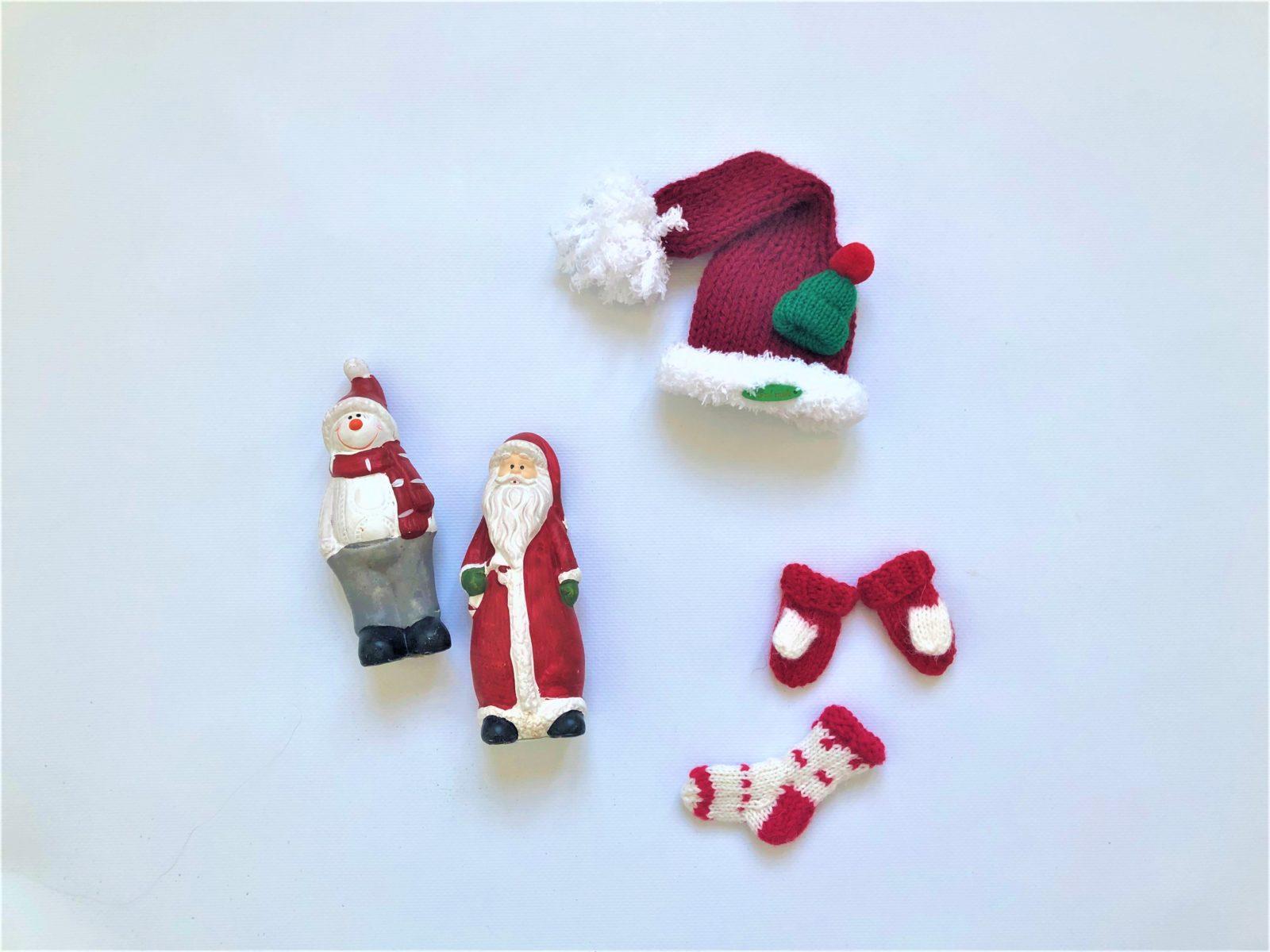 Вязаные новогодние игрушки