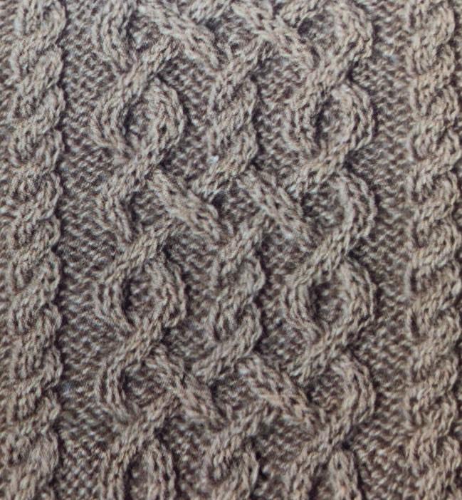 Плетенка с вариантом спицами