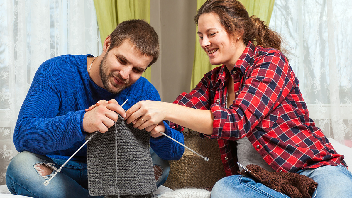 Вязание как хобби