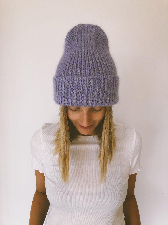 Новые модели шапок спицами