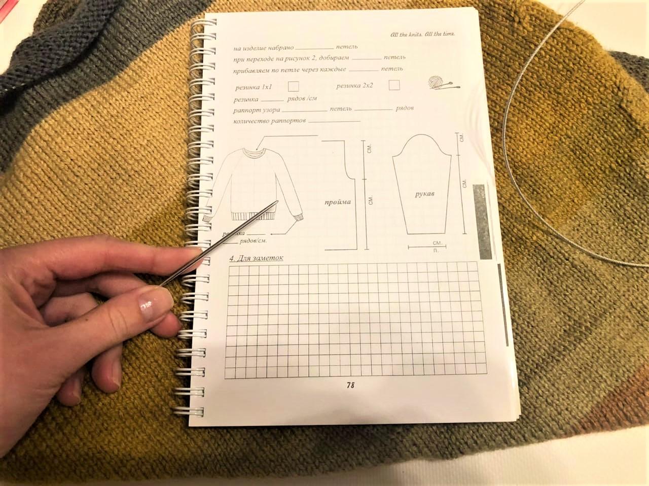 План для вязания