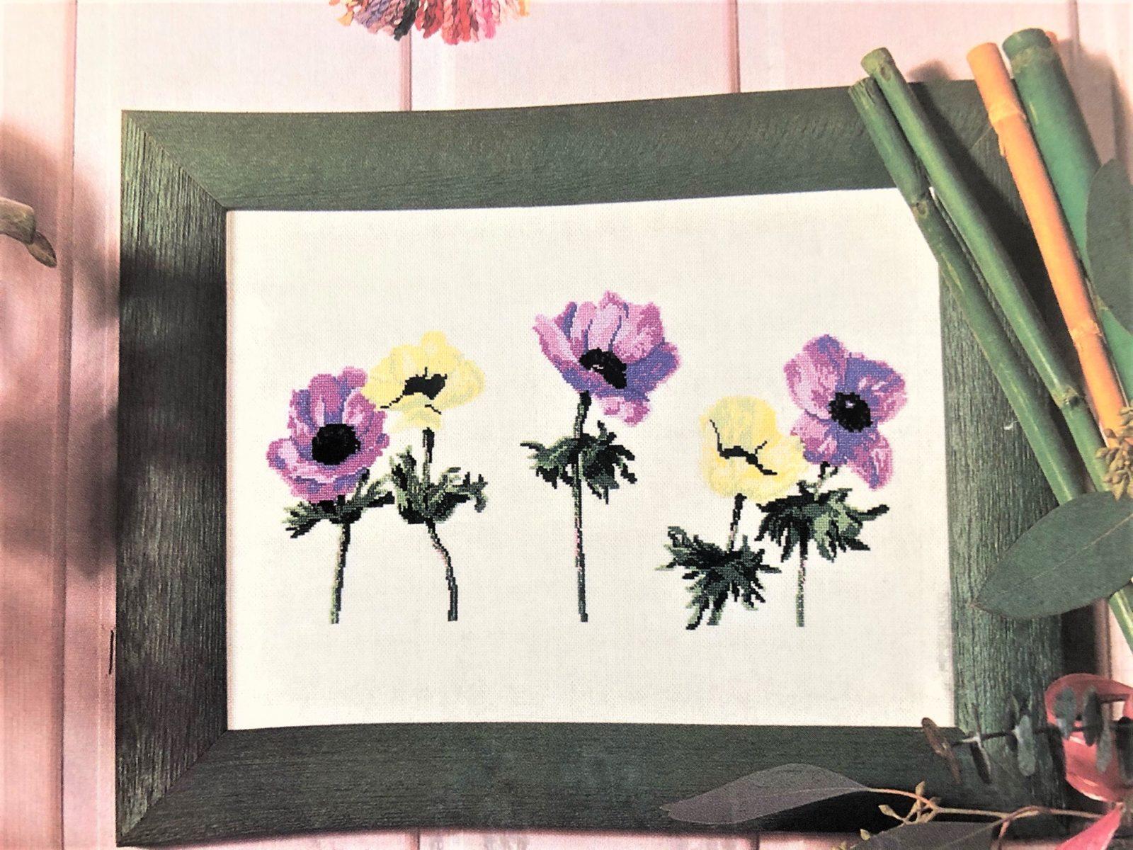 Вышивка: весна