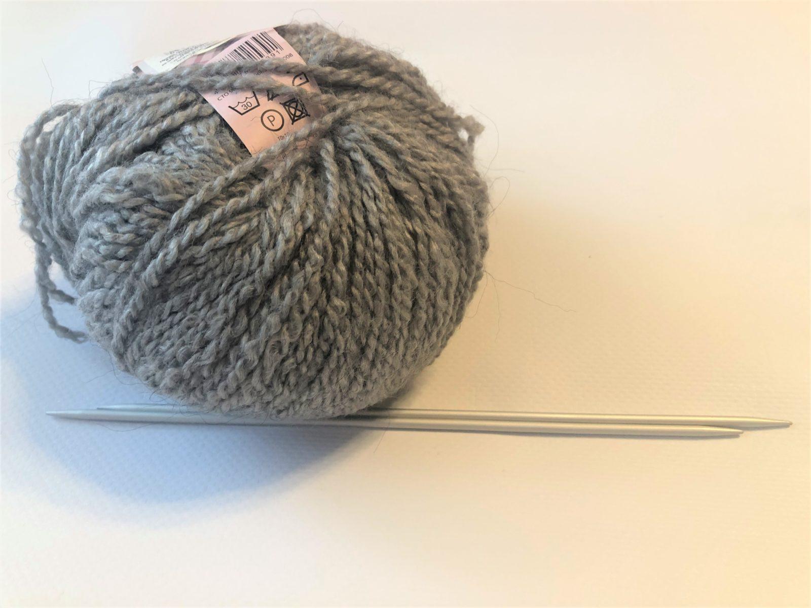 Пряжа для шарфа спицами
