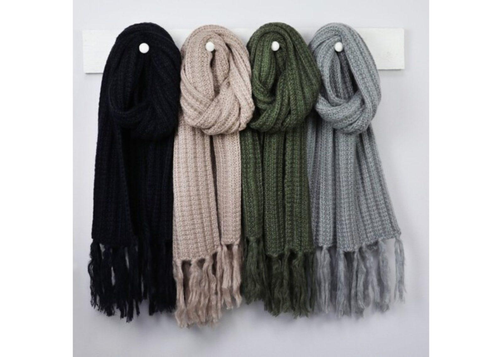 Вязаные шарфы
