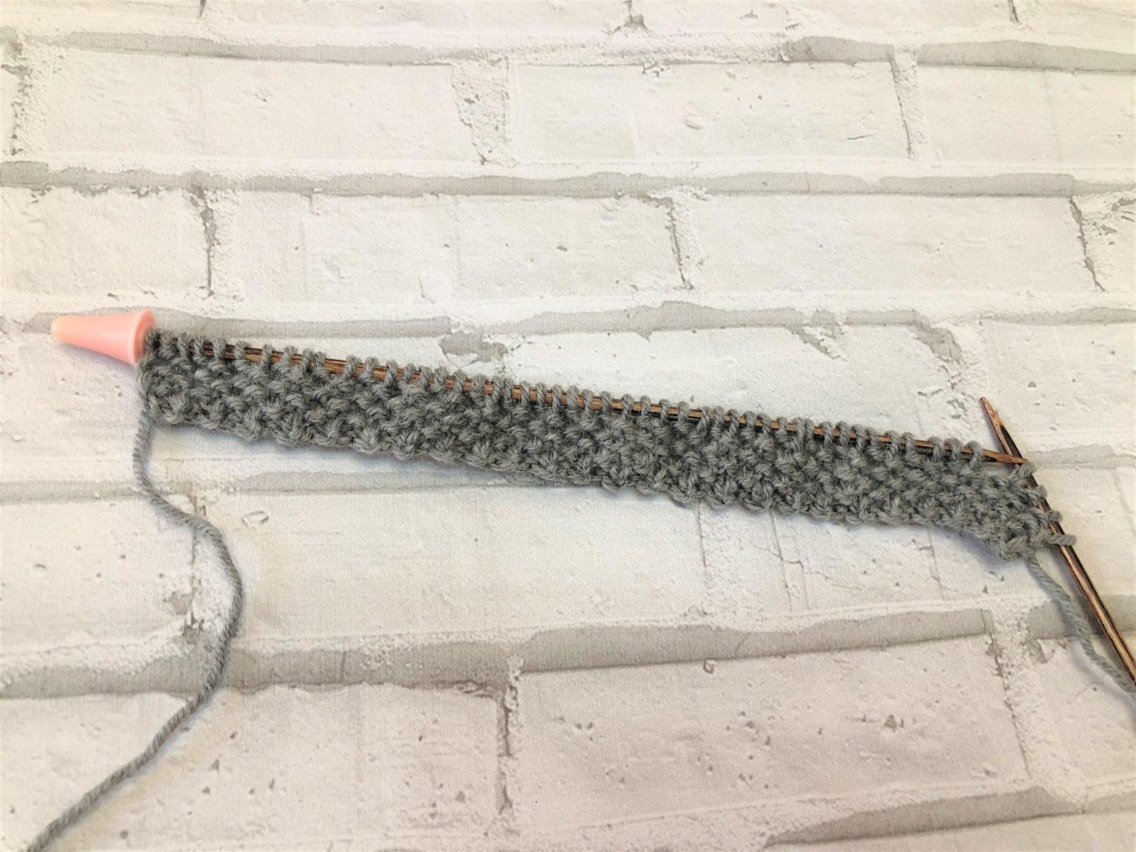 Окантовка шарфа