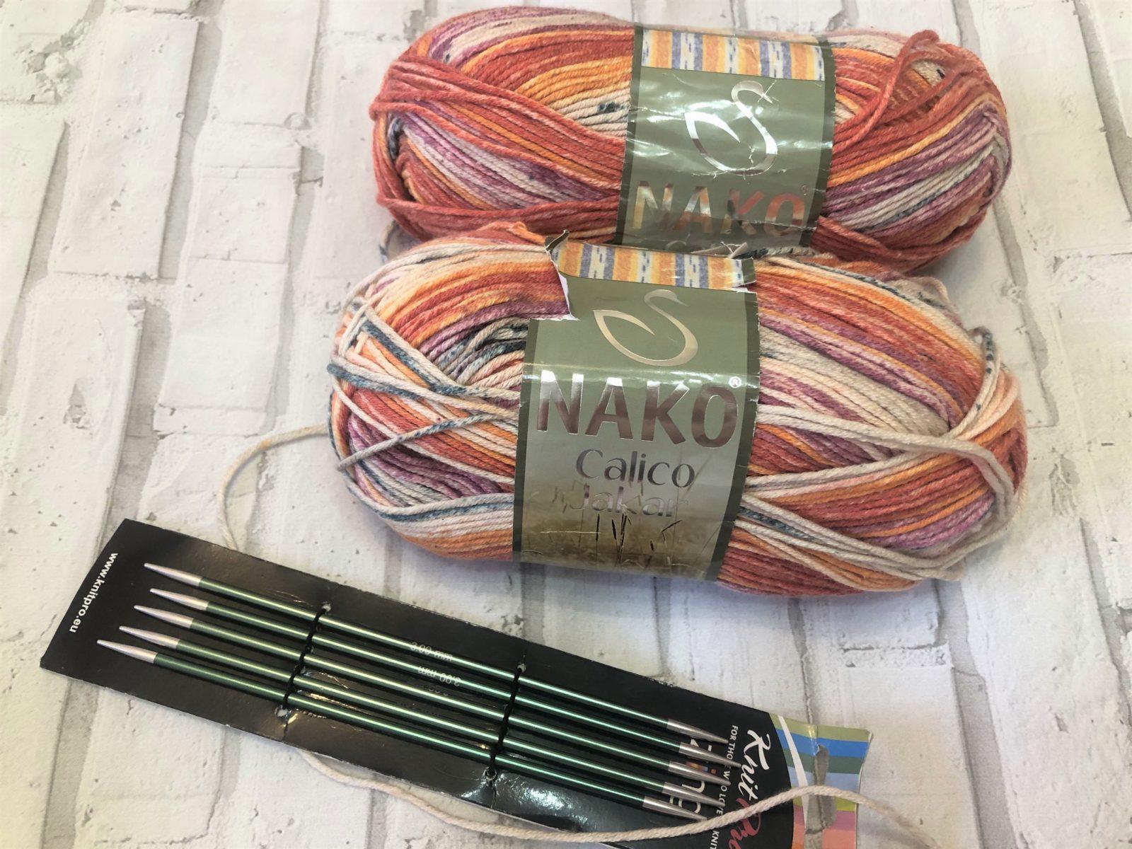 Секционная пряжа для вязания носков
