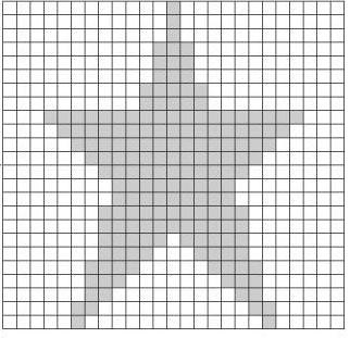 Схема вязания звезды спицами