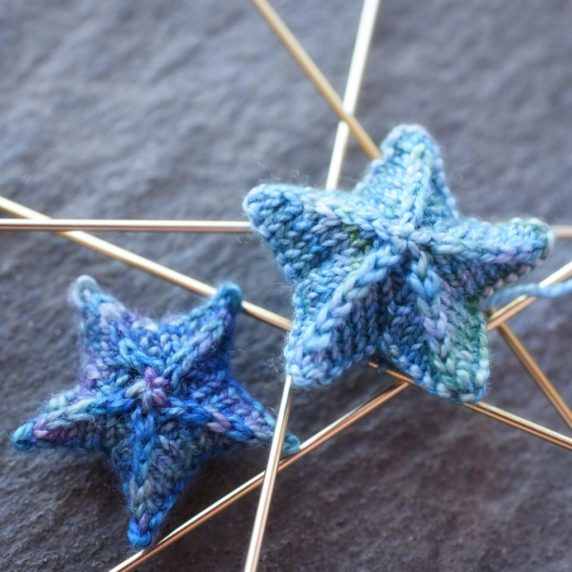 Маленькие звезды спицами