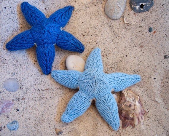 Морская звезда спицами