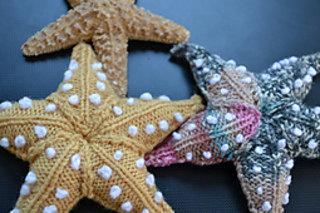 Вязаная морская звезда